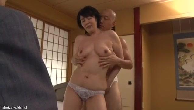 Gorgeous wife giving handjob