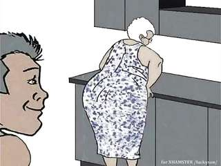 Cartoon grandma sex Cartoon XXX